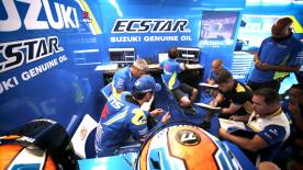 MotoGP™ Legend Kevin Schwantz talks about the two young, up and coming talents in the Suzuki Ecstar box