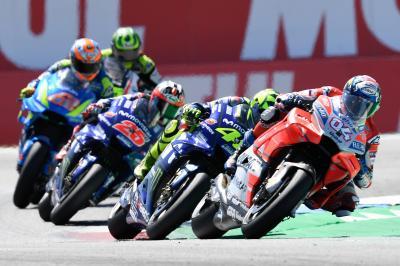 Rossi e Dovizioso, il secondo posto è italiano