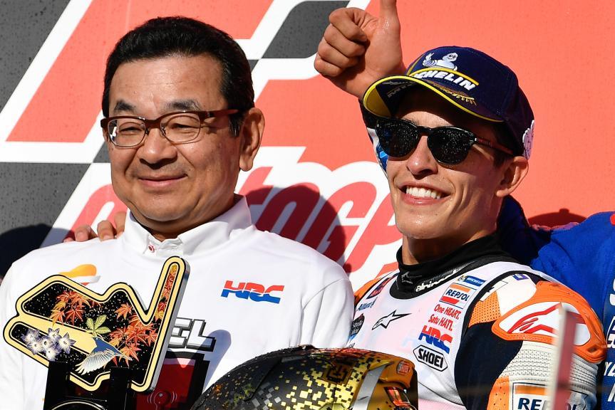 Takahiro Hachigo, Marc Marquez, Repsol Honda Team