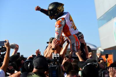 Márquez llega a Australia como 'espíritu libre'