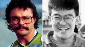 Kork Ballington and Noboru Ueda talk about wearing glasses when motorcycle racing