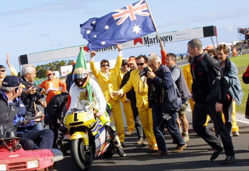 Valentino Rossi, Australia, 2001