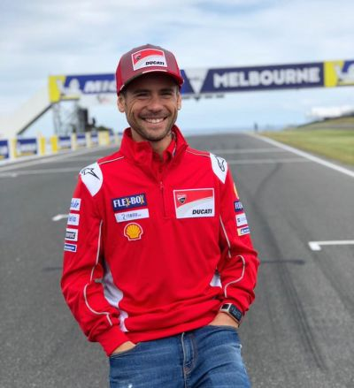 Definitely one of the happiest men at Phillip Island! You