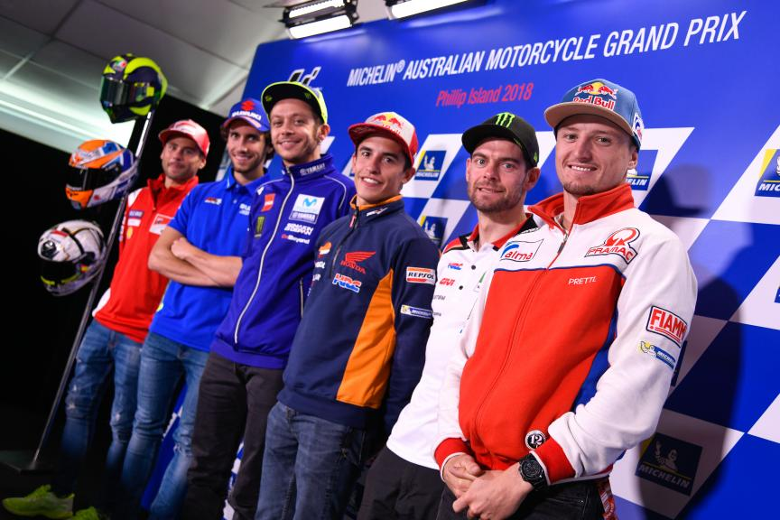 Press-Conference, Michelin® Australian Motorcycle Grand Prix
