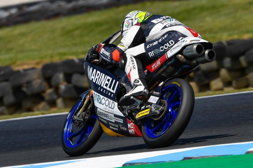 Tony Arbolino, Marinelli Snipers Team, Michelin® Australian Motorcycle Grand Prix