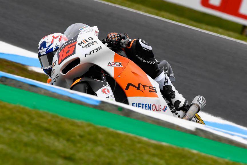 Joe Roberts, NTS RW Racing GP, Michelin® Australian Motorcycle Grand Prix