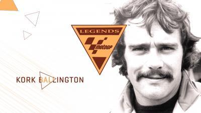 Kork Ballington zur MotoGP™ Legende ernannt