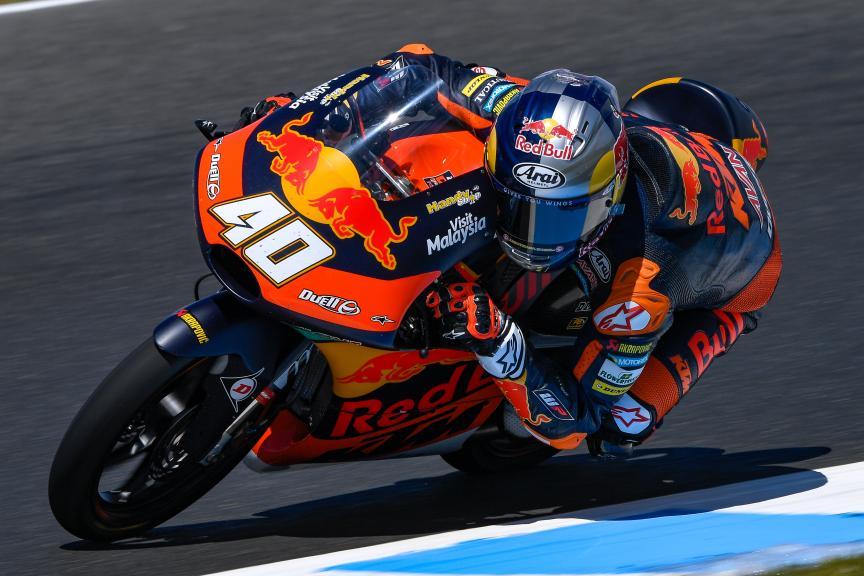 Darryn Binder, Red Bull KTM Ajo, Michelin® Australian Motorcycle Grand Prix