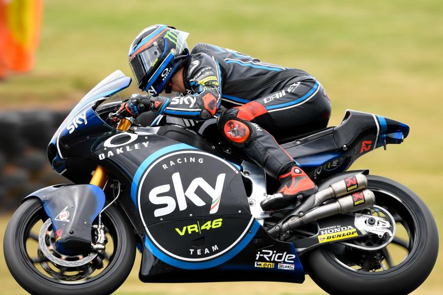Francesco Bagnaia, Sky Racing Team VR46, Michelin® Australian Motorcycle Grand Prix