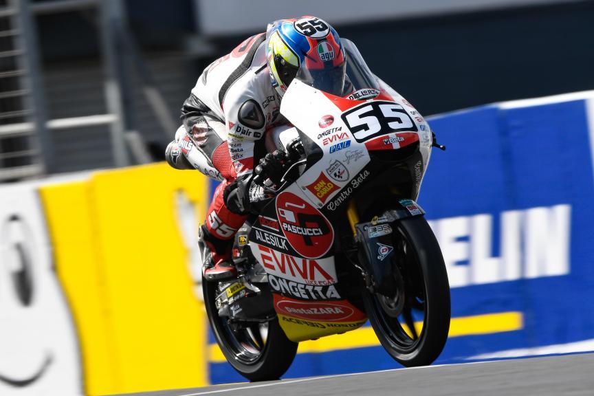 Yari Montella, SIC58 Squadra Corse, Michelin® Australian Motorcycle Grand Prix