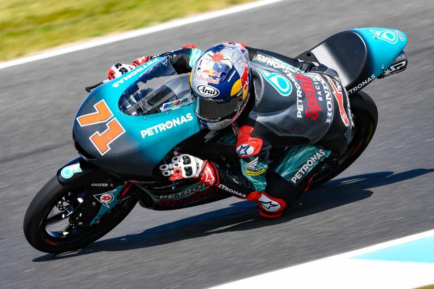 Ayumu Sasaki, Petronas Sprinta Racing, Michelin® Australian Motorcycle Grand Prix