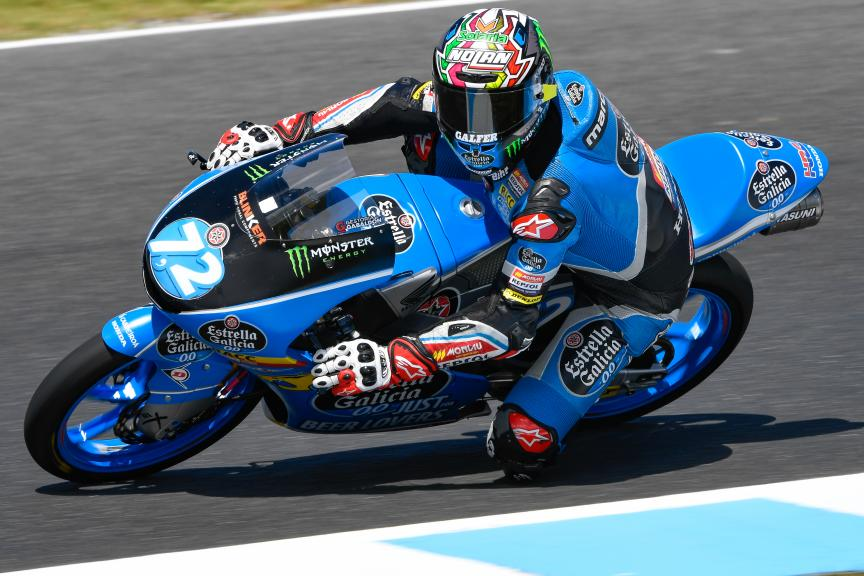 Alonso Lopez, Estrella Galicia 0,0, Michelin® Australian Motorcycle Grand Prix