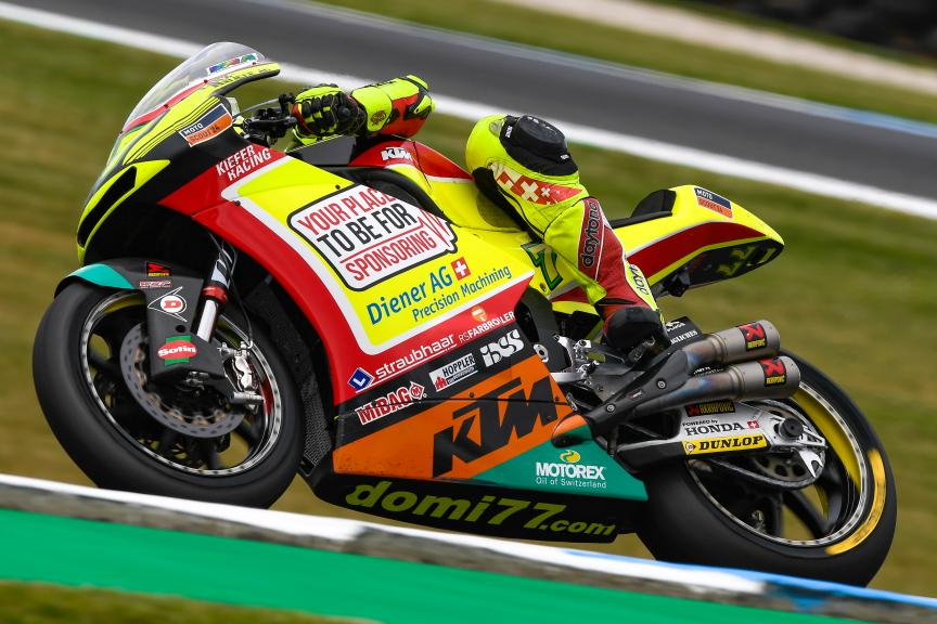 Dominique Aegerter, Kiefer Racing, Michelin® Australian Motorcycle Grand Prix