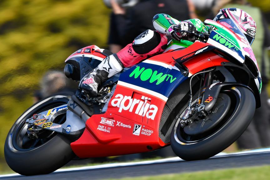 Aleix Espargaro, Aprilia Racing Team Gresini, Michelin® Australian Motorcycle Grand Prix
