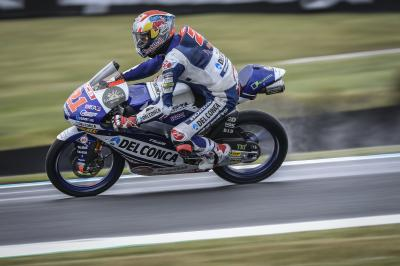 Di Giannantonio and Martin set the pace in wet FP3