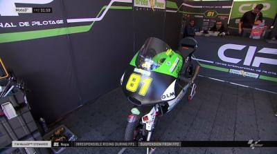 FIM #MotoGP Stewards: @stefanonepa81 has been suspended from the #Moto3