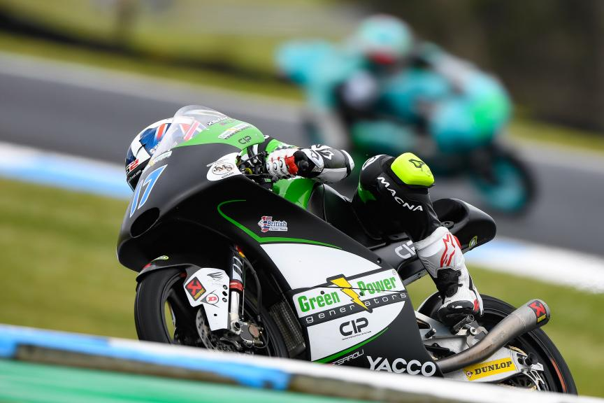 John Mcphee, CIP - Green Power, Michelin® Australian Motorcycle Grand Prix