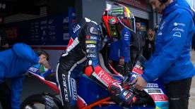 The third Free Practice session in full for the lightweight class at Phillip Island