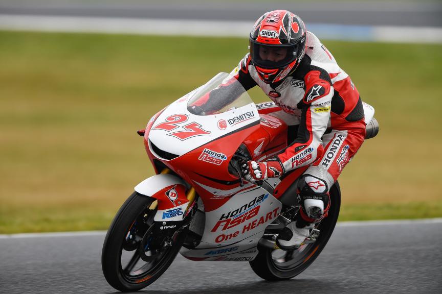 Kaito Toba, Honda Team Asia, Michelin® Australian Motorcycle Grand Prix