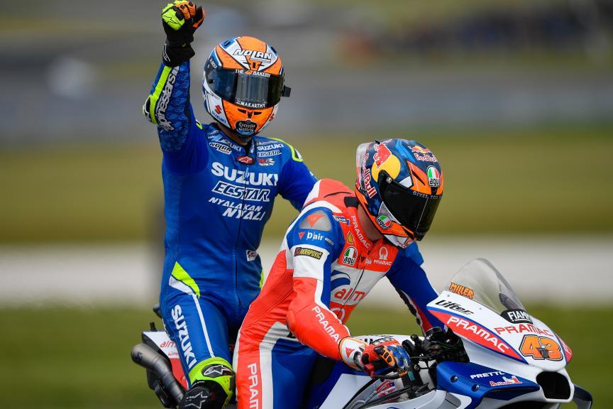 Jack Miller, Alma Pramac Racing, Alex Rins, Team Suzuki Ecstar, Michelin® Australian Motorcycle Grand Prix
