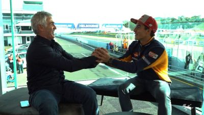 Champ vs Champ! Marc Márquez had a special request for