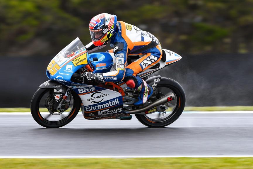 Philipp Oettl, Sudmetal Schedl GP Racing, Michelin® Australian Motorcycle Grand Prix