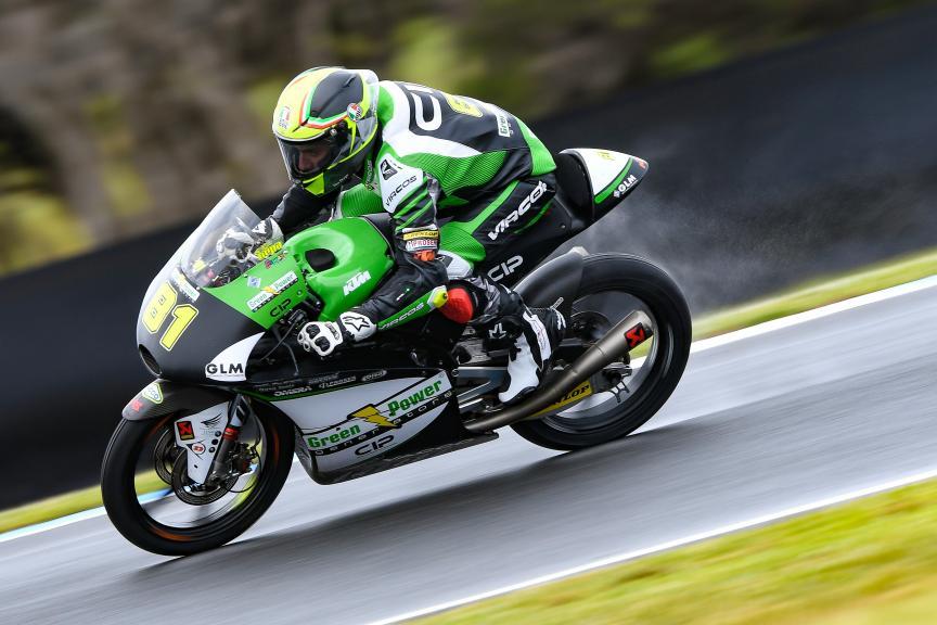 Stefano Nepa, CIP - Green Power, Michelin® Australian Motorcycle Grand Prix