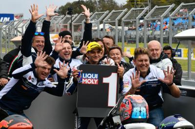 Martín empoche sa 10e pole de l'année à Phillip Island