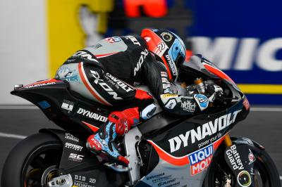 Moto2™ - Phillip Island: Schrötter brille en FP3