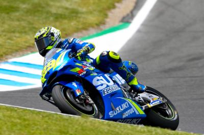 Iannone fastest from the Movistar Yamahas in FP4