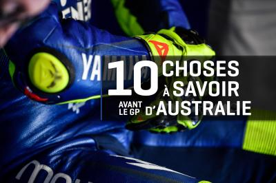 10 choses à savoir avant le GP Michelin® d'Australie