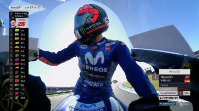 The losing streak is over! @maverickmack25 takes Yamaha's first win
