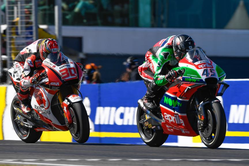 Scott Redding, Aprilia Racing Team Gresini, Michelin® Australian Motorcycle Grand Prix