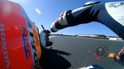 Pedrosa explains Sunday's Phillip Island crash