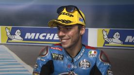 Fourth podium of the season for the EG 0,0 Marc VDS rider who put in his peformance of the year in Australia