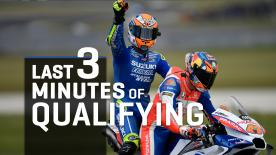 Watch the un-missable final 3 minutes of MotoGP™ qualifying as Marquez, Dovi, Miller, Viñales and Zarco all took their shots at pole