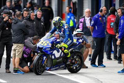 """Rossi: """"Nach 15 Runden steckte ich in Schwierigkeiten"""""""
