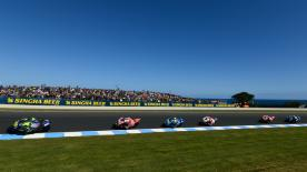 All the action from round 16 of the MotoGP? World Championship at Phillip Island