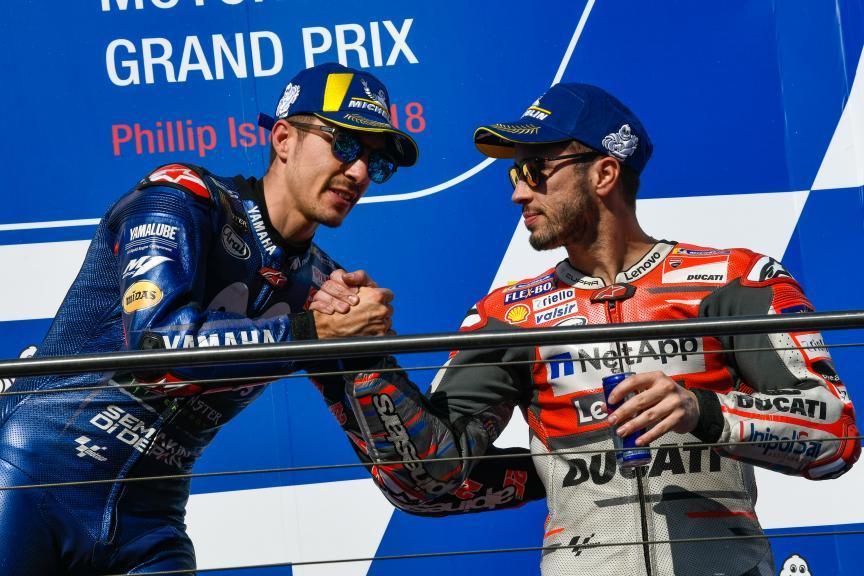 Maverick Viñales, Andrea Dovizioso, Michelin® Australian Motorcycle Grand Prix