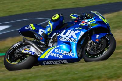 Iannone sigue intimidando en el Warm Up