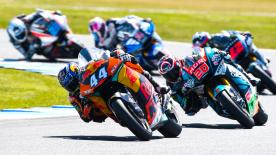 The full Moto2™ race at the Michelin® Australian Motorcycle Grand Prix at Phillip Island