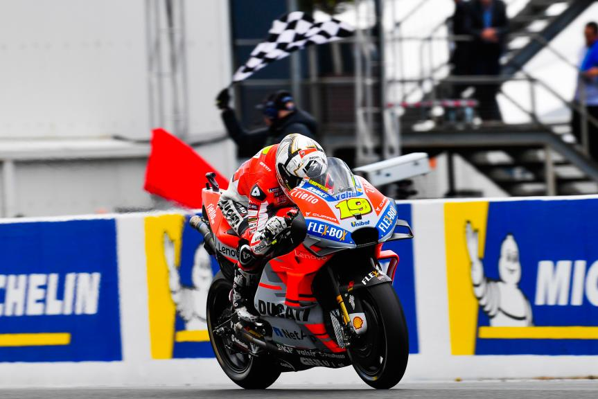 Alvaro Bautista, Ducati Team, Michelin® Australian Motorcycle Grand Prix
