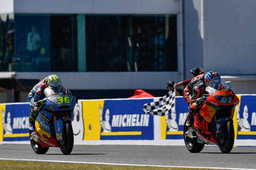 Brad Binder, Joan Mir, Michelin® Australian Motorcycle Grand Prix