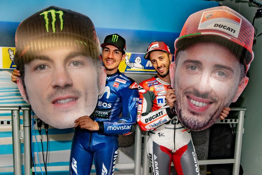 Andrea Dovizioso, Maverick Viñales, Michelin® Australian Motorcycle Grand Prix