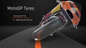 In MotoGP™ i freni non si usano solo in staccata ma sono fondamentali anche in percorrenza di curva. Il 'Trail brake' spiegato in 3D