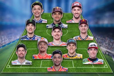 Viñales' MotoGP™ football dream team