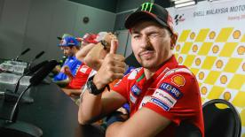 The number 99 returns from injury to ride in Sepang, but is he more focused on being fit to race or worried more about testing with Honda?