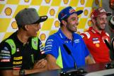 Press-Conference, Shell Malaysia Motorcycle Grand Prix