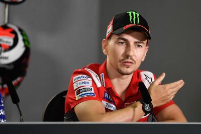 Lorenzo: «Je veux avant tout me réhabituer à la moto»