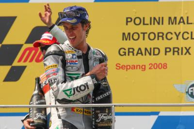 FREE: Sepang 2008 - Dovizioso's first podium in MotoGP™